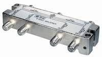 SAT Splitter 6x with DC Passthrough Class A - UniCable Accessoires