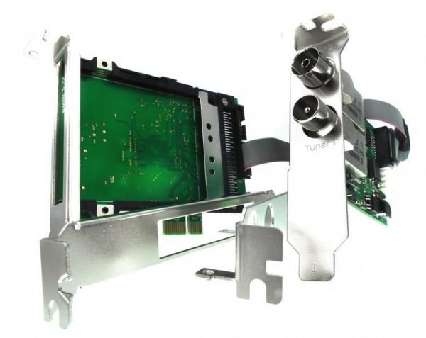 Twin Tuner TV Karte DVB-C/C2/T/T2 (Single CI Bridge) - DD Octopus Single CI & DuoFlex C2T2