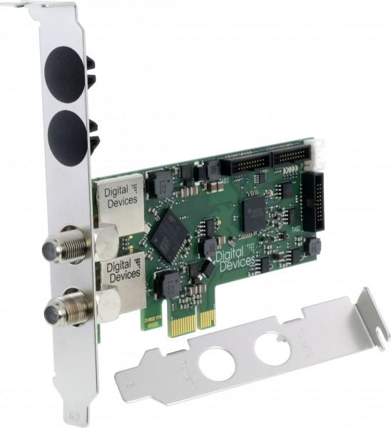 Twin Tuner TV Karte DVB-S/S2 (PCI Express Karte) - DD Cine S2 V7A