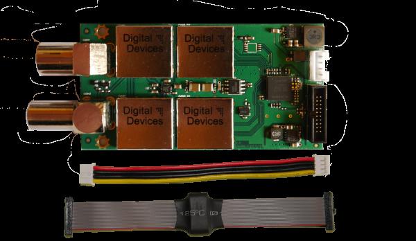 Twin Tuner TV Karte Erweiterungsmodul DVB-C/C2/T/T2 ISDB-T - Octopus NET