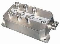 Antenna splitter 6x for DVB-C/T