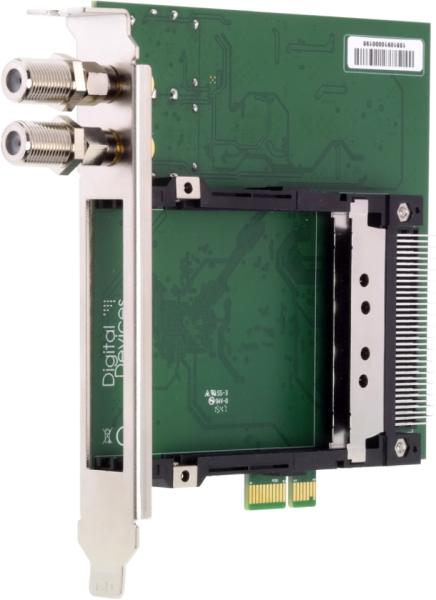 Digital Devices OctopusCI S2 Pro Advanced - Twin CI und Twin DVB-S2 Tuner für PCIe Slot