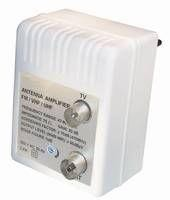 DVB-C/T amplifier for electric wall-jack