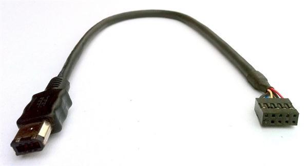 FireWire Kabel A 6pin auf Pfostenstecker ca. 34 cm