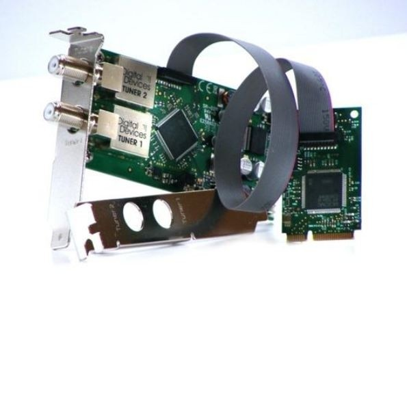 DD DuoFlex S2 mini PCIe - Twin Tuner Card DVB-S/S2