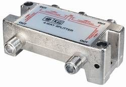 SAT Splitter 4x with DC Passthrough Class A - UniCable Accessoires