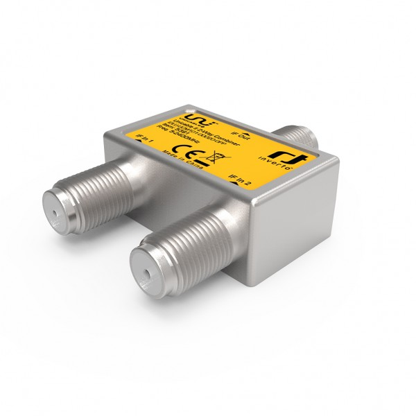 Inverto Unicable II 2-way combiner, 5-2400MHz - IDLU-UCM1O1-OOO2O-OPP