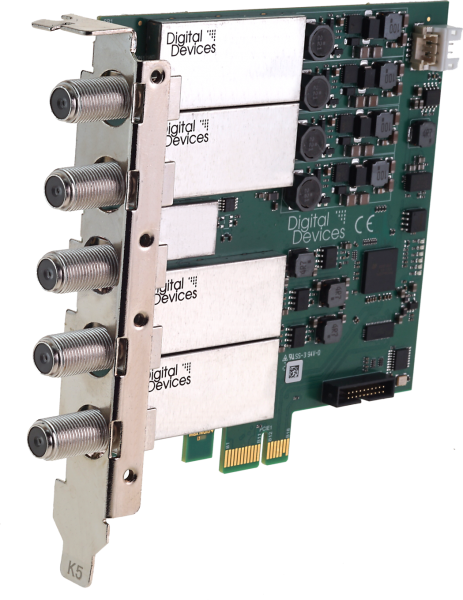Digital Devices Max M4 - 4x Multi-Band Tuner TV Card
