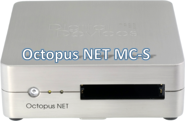 Digital Devices Octopus NET MC-S (12/08) - Multicast IP Streaming Server