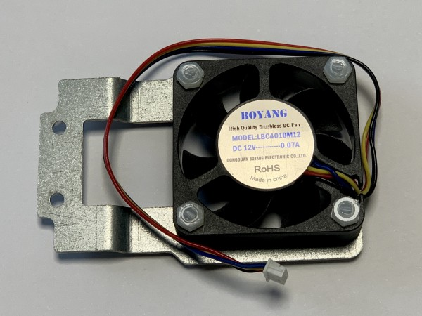 MAX fan 40mm with holder for mounting on K5 bracket